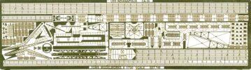 PE86 1/700 WWII アメリカ海軍 巡洋艦 インディアナポリス用 エッチングパーツ