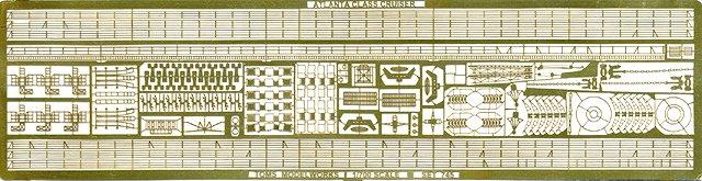PE87 1/700 WWII アメリカ海軍 防空巡洋艦 アトランタ級用 エッチングパーツ