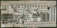 PE99 1/700 WWII アメリカ海軍 戦艦 ノースカロライナ/ワシントン用 エッチングパーツ