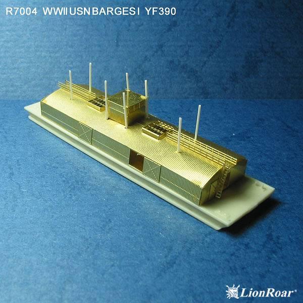 R7004 1/700 WWII アメリカ海軍 艀 1(YF390 & YF959)