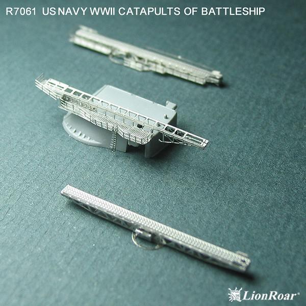 R7061 1/700 WWII アメリカ海軍 戦艦用 カタパルトセット