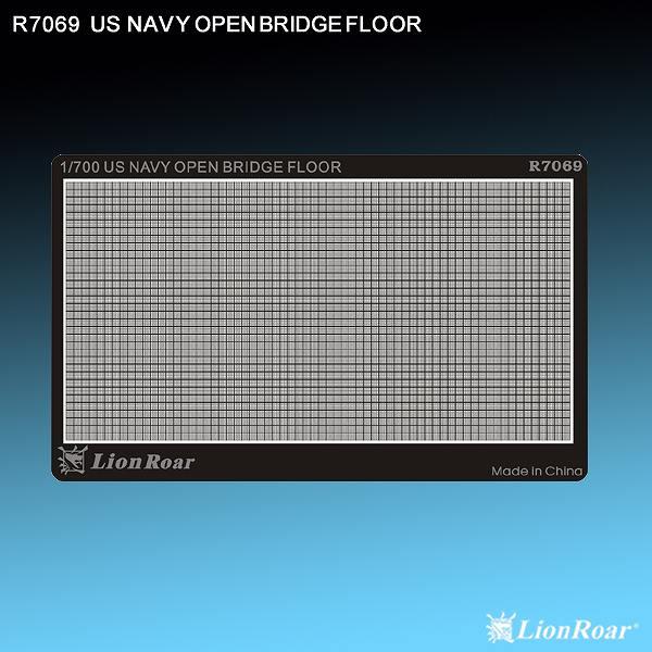 R7069 1/700 WWII アメリカ海軍 露天艦橋用 滑り止めプレート