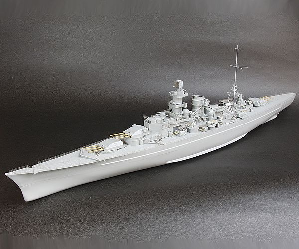 RS3507 1/350 WWII ドイツ海軍 巡洋戦艦 シャルンホルスト(DR社)用 ディテールアップパーツセット