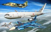 S38 1/700 航空自衛隊機セット 2