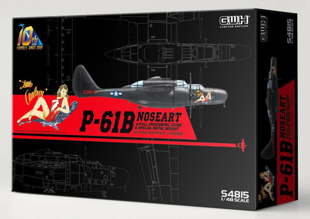 S4815 1/48 P-61B ノーズアート