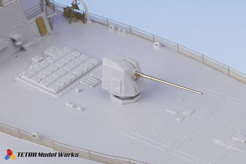 SA3503 1/350 アメリカ海軍 Mark.45 5インチ62口径砲 Mod.4 砲身 2本入り