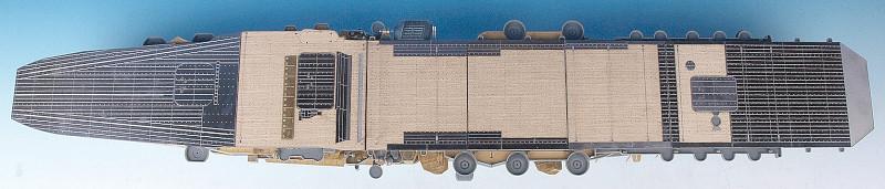 SA3506 1/350 日本海軍 空母 加賀(F社)用 木製甲板 甲板用エッチングパーツ付き