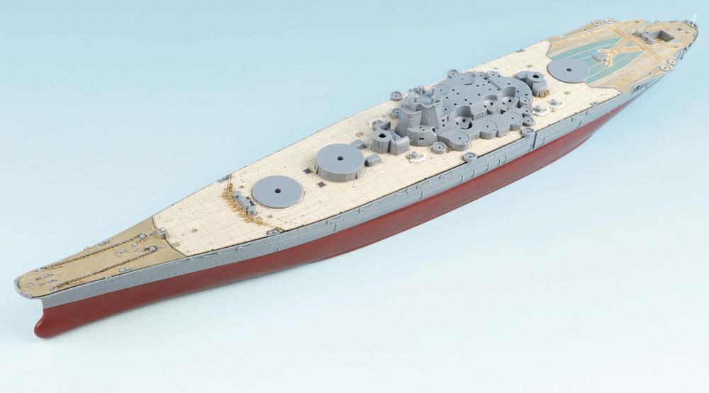 SA7009 1/700 日本海軍 戦艦 武蔵(F社NEXT002)用 木製甲板 エッチングパーツ付き