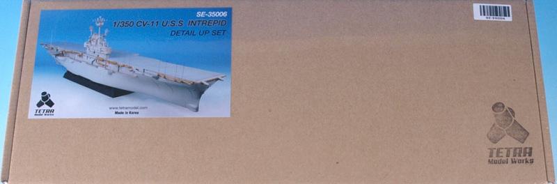 SE3506 1/350 アメリカ海軍 空母 CV-11 イントレピッド(GAMO社)用 エッチングパーツ