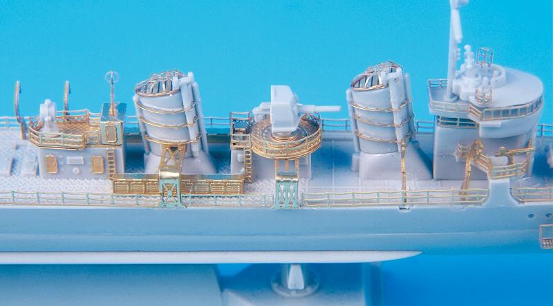 SE7009 1/700 日本海軍 駆逐艦 睦月型(ピットロード)用 エッチングパーツ
