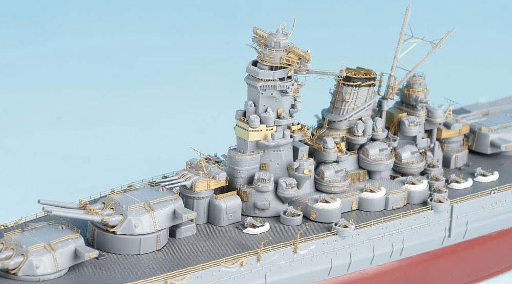SE7012 1/700 日本海軍 戦艦 武蔵(F社NEXT.02)用 エッチングパーツ