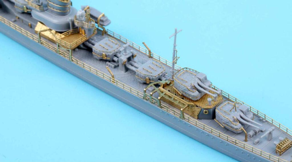 SE7025 1/700 日本海軍 駆逐艦 狭霧 1941(YH社)用 エッチングパーツ