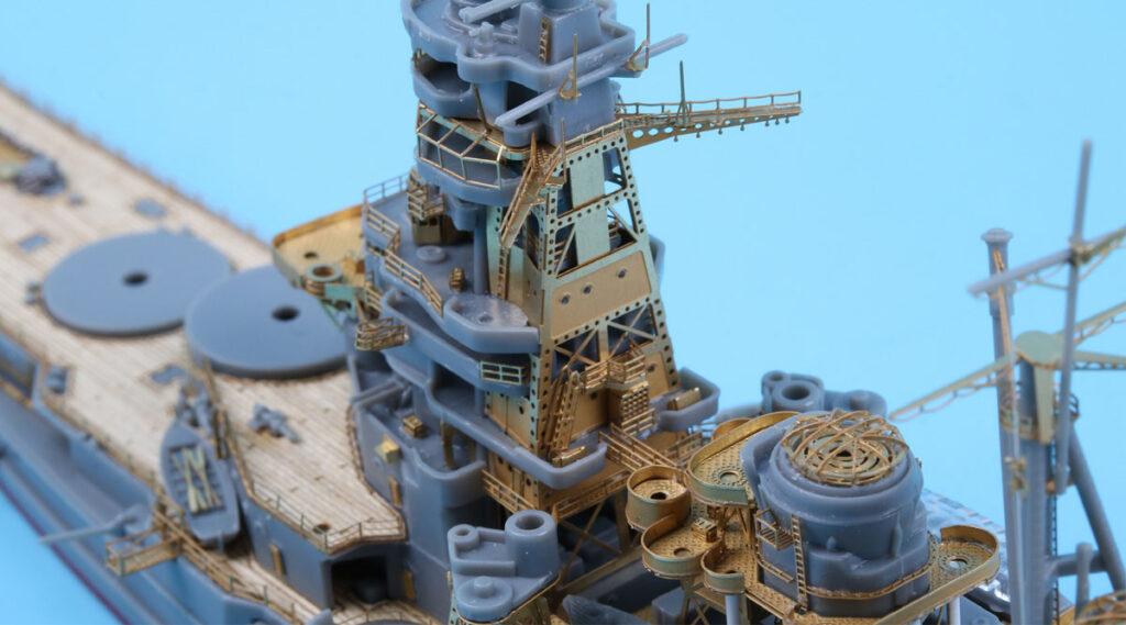 SE7026 1/700 日本海軍 戦艦 霧島用(F社)用 エッチングパーツ