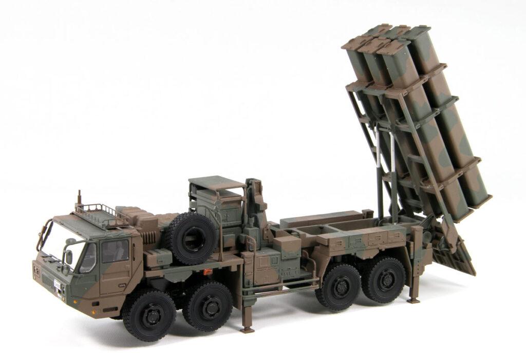 SGF09 1/72 陸上自衛隊 12式地対艦誘導弾 ミサイルパーツ付き