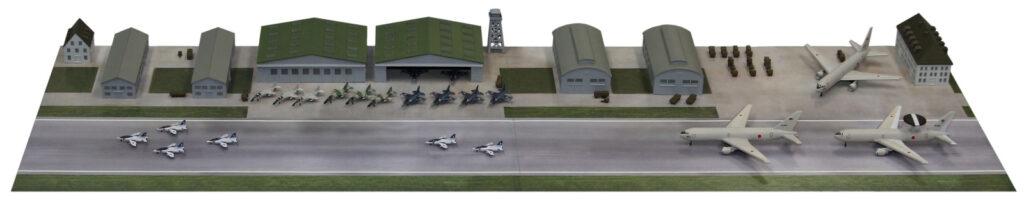 SPS03 1/700 航空自衛隊基地