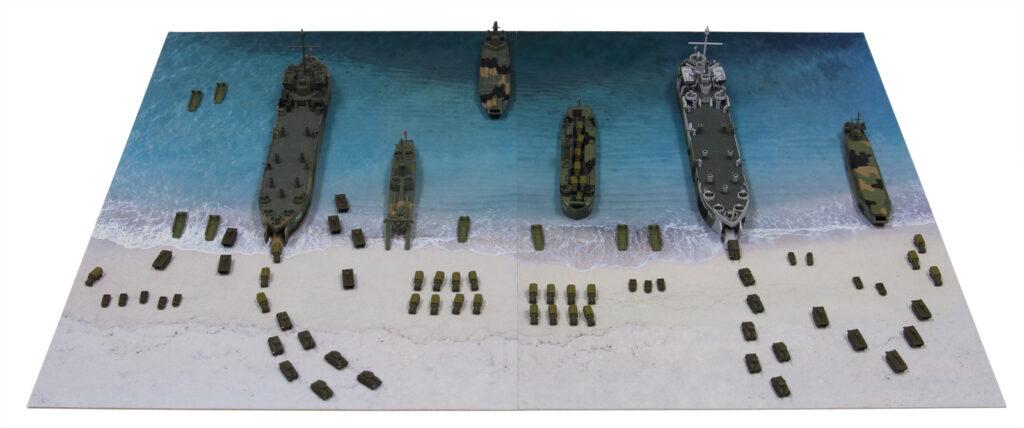 SPS04 1/700 WWII イオージマ上陸作戦