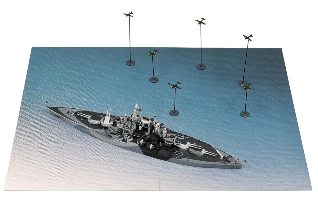 SPS09 1/700 レイテ沖海戦【BB-48 ウェスト・ヴァージニア VS 日本海軍航空隊】