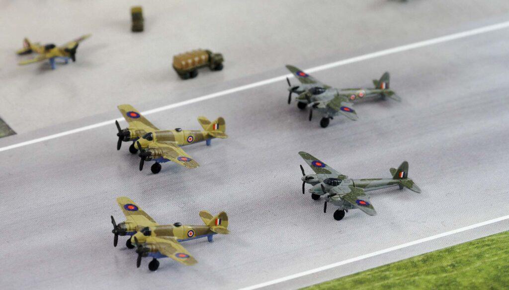 SPS10 1/700 WWII イギリス空軍基地