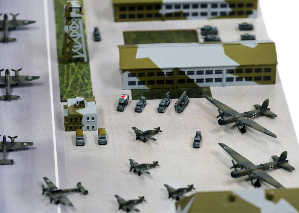 SPS12 1/700 WWII ドイツ空軍基地