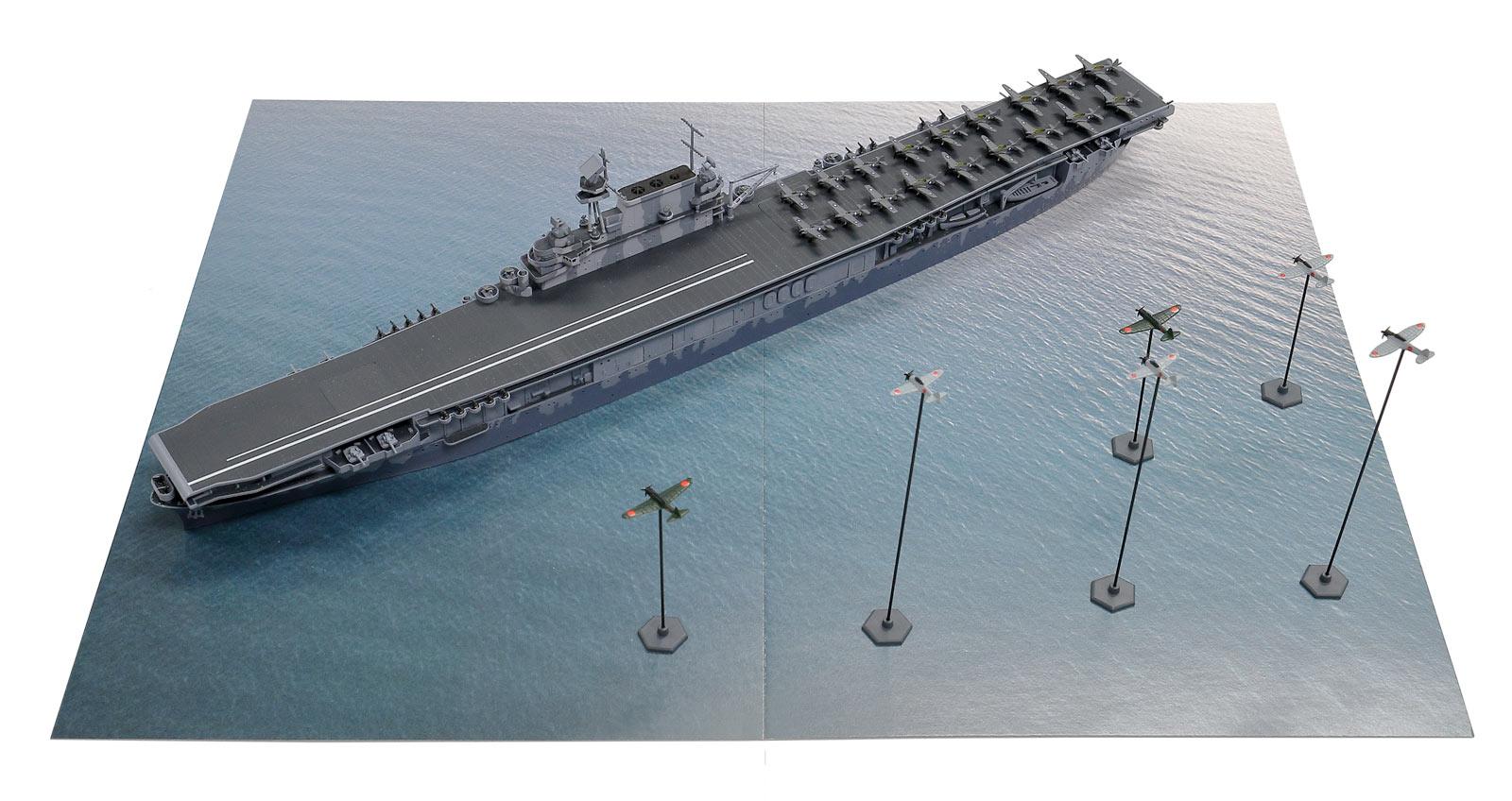 SPS14 1/700 南太平洋海戦(CV-8 ホーネットVS日本海軍航空隊)