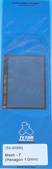 TA0006 メッシュ F(六角 1.0mm)