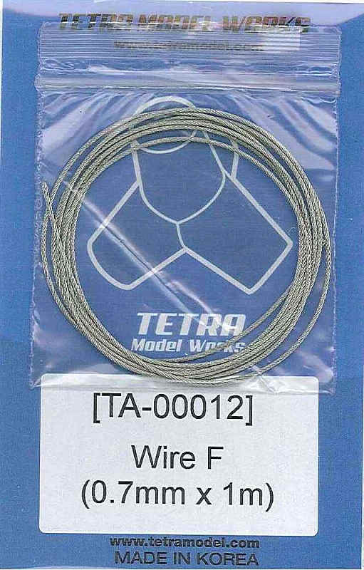 TA0012 ステンレスワイヤー0.7mm径×1m
