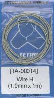 TA0014 ステンレスワイヤー1mm径×1m
