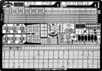 TM3508 1/350 WWII アメリカ海軍 駆逐艦 フレッチャー級用 エッチングパーツ