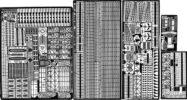 TM3530 1/350 アメリカ海軍 空母 エセックス級用 エッチングパーツ
