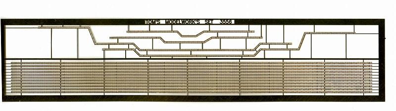 TM3582 1/350 イギリス海軍 巡洋戦艦 フッド用舷外電路