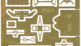TM3591 1/350 アメリカ海軍 Mk.4レーダー