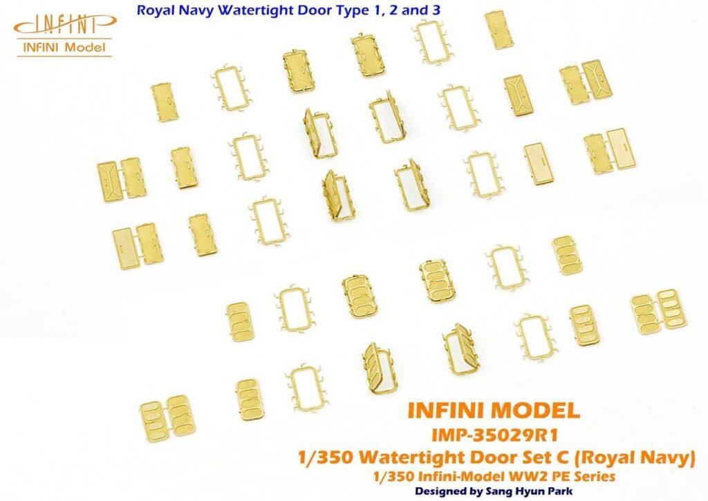 IMP3529 1/350 WWII イギリス海軍 水密扉