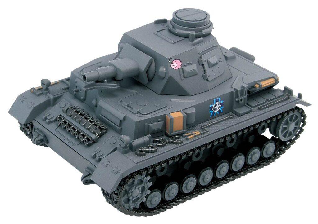 PD68「ガールズ&パンツァー」 IV号戦車D型 エンディングVer. 半塗装済みプラモデル