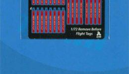 AA7201 1/72 リムーブビフォアフライトタグ(アメリカ空軍機用)