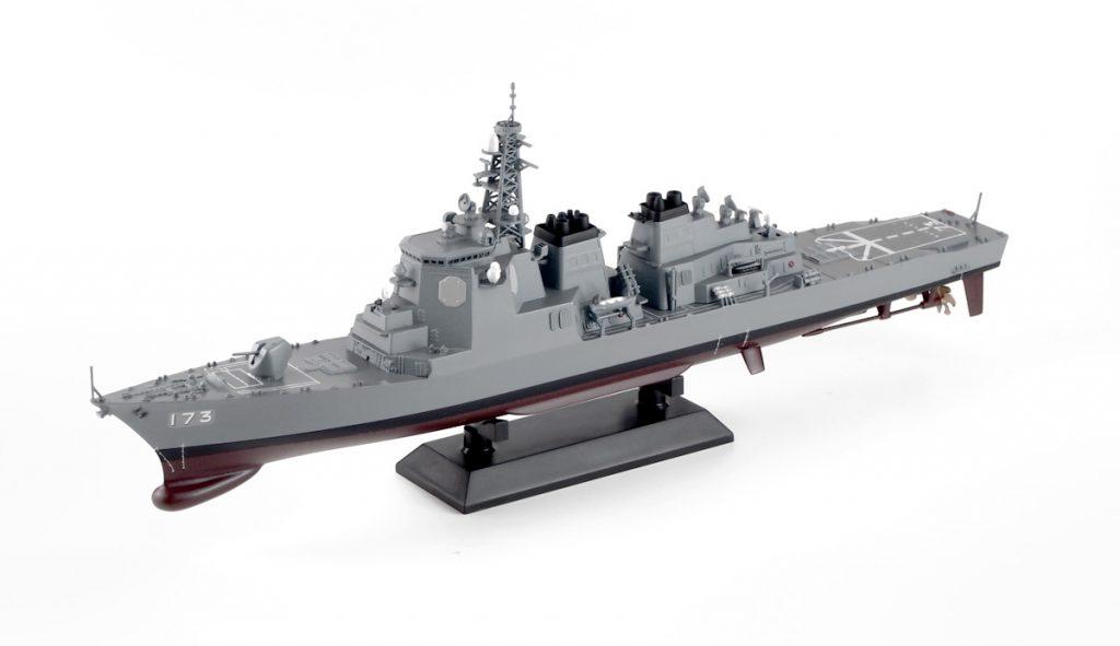 J60F 1/700 海上自衛隊 イージス護衛艦 DDG-173 こんごう 女性自衛官フィギュア付き(長門佳乃 准海尉第3種夏服)