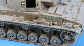 ME3567 1/35 ドイツ陸軍 III号戦車J型(AC社)用 エッチングパーツ