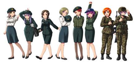 PGS07 それゆけ!女性自衛官 Vol.5.5 陸上自衛隊編