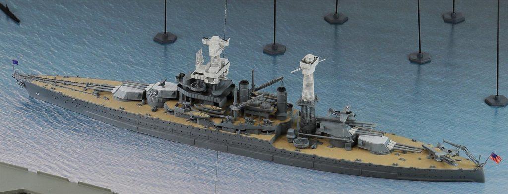 SPS11 1/700 真珠湾攻撃作戦(トラ・トラ・トラ) BB-44 カリフォルニア VS 日本海軍航空隊