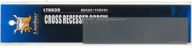 LT0039「エッチングパーツ 十字ネジヘッド」
