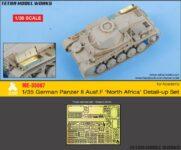 ME3568 1/35 ドイツ陸軍 II号戦車F型用(AC社)用 エッチングパーツ