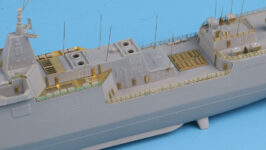 SE7033 1/700 中国海軍 055型駆逐艦(TR社)用 エッチングパーツ