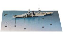 SPS19 1/700 地中海の戦い(イギリス海軍 戦艦 バーラム VS ドイツ空軍)