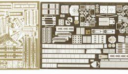 TM3593 1/350 アメリカ海軍 軽巡洋艦 クリーブランド級(VF社)用 エッチングパーツ