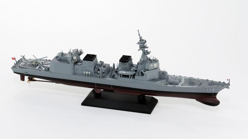 J84NH 1/700 海上自衛隊 護衛艦 DD-115 あきづき 旗・艦名プレートエッチングパーツ付き