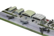 SPS18 1/700 現用アメリカ空軍基地 1(1990年代)