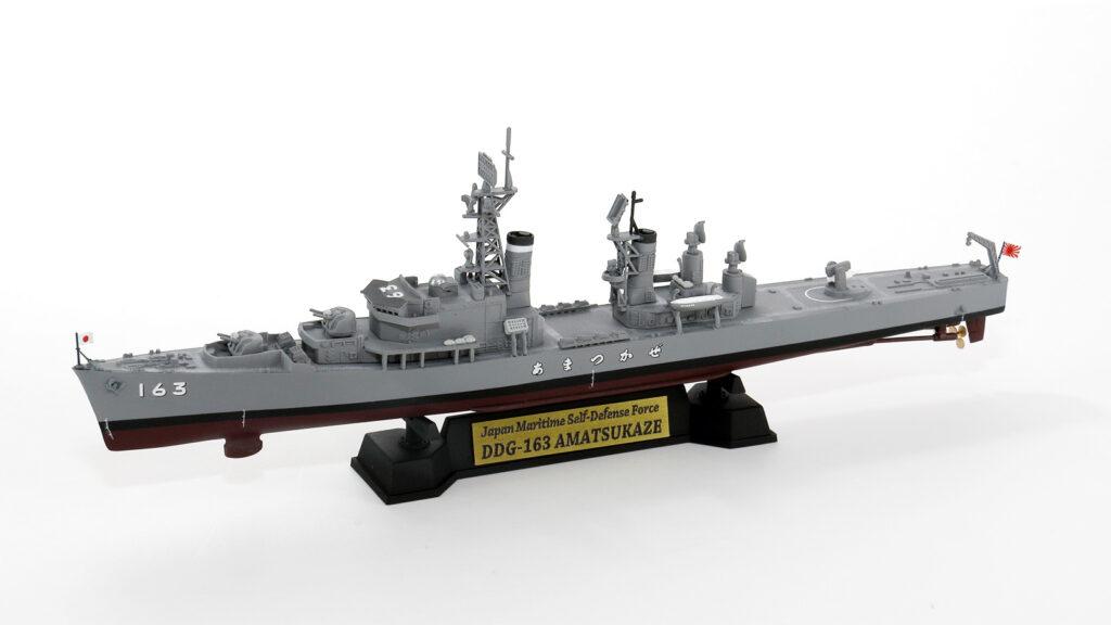 J88NH 1/700 海上自衛隊 護衛艦 DDG-163 あまつかぜ 就役時 旗・艦名プレートエッチングパーツ付き