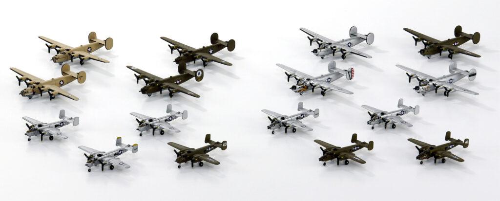 S64 1/700 WWII アメリカ軍用機セット 3