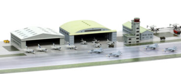 SPS21 1/700 現用アメリカ海軍航空基地 1 (1980年代)