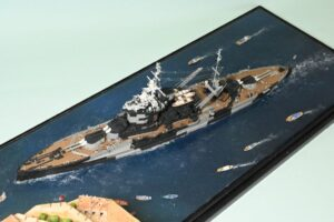 HMS Warspite in Malta 1942(那須麗弘様)
