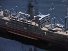 日本海軍給糧艦 間宮(種子島亭 三つ羽様)